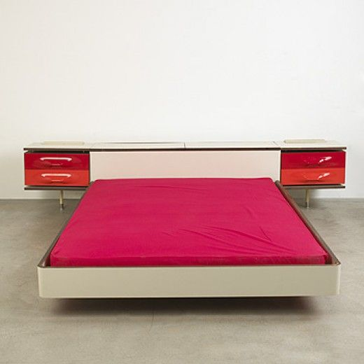 Raymond loewy df 2000 bed for c e i c1960 coveted - Idees decors du milieu du siecle salon ...
