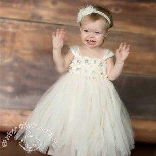 Perfect Diva Baby Pearls Tutu Dress
