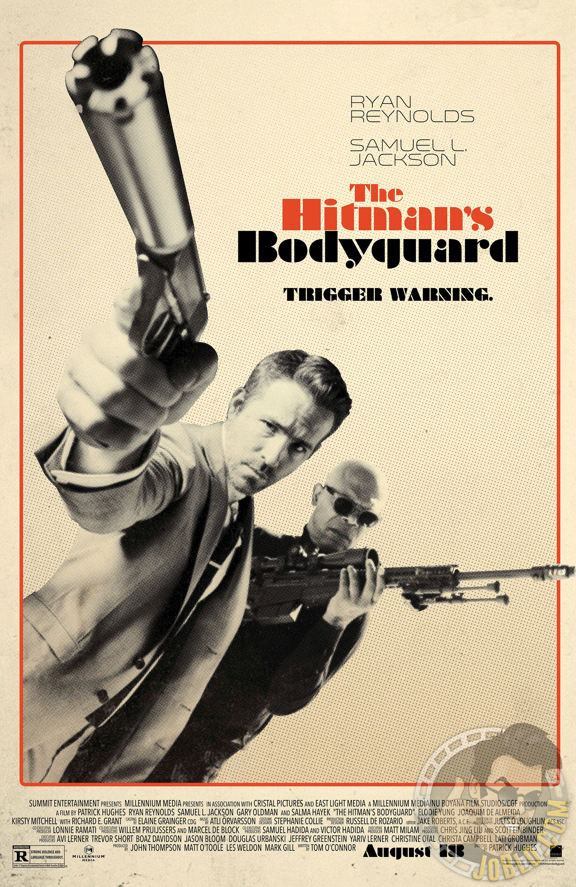 The Hitman's Bodyguard (2017) - Movie Posters | The ...