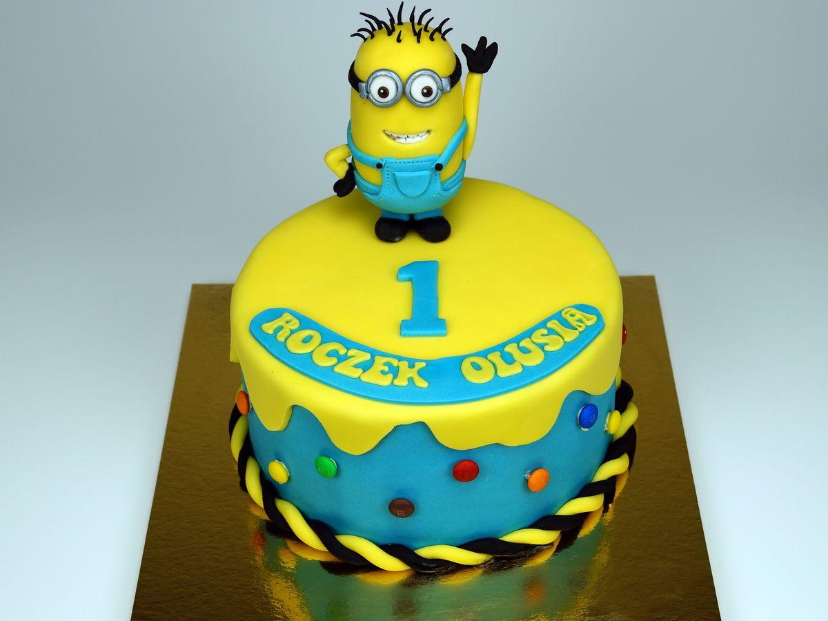 Minions Cake London Httppinkcakeland Birthday Cakes