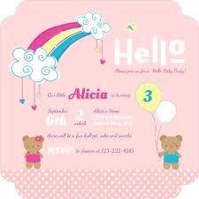 Hello Kitty Birthday Party Ideas Sanrio Invitations Wording