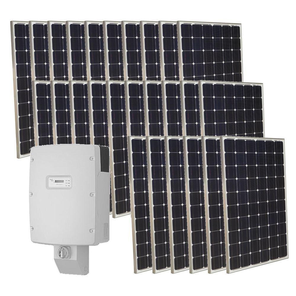Grid Tied Solar Kits In 2020 Solar Power House Solar Panels Solar Kit