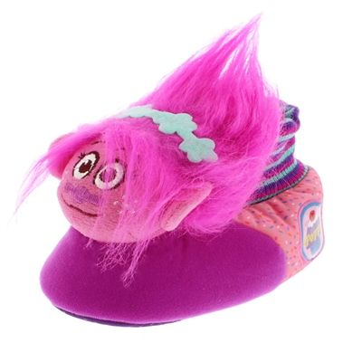 4dd7f0ffa October 27th Daily Deal. Poppy Troll Kids Sock Top Slippers on sale for  just $15.99 TODAY ONLY! #Poppy #Trolls #DailyDeal #YankeeToyBox