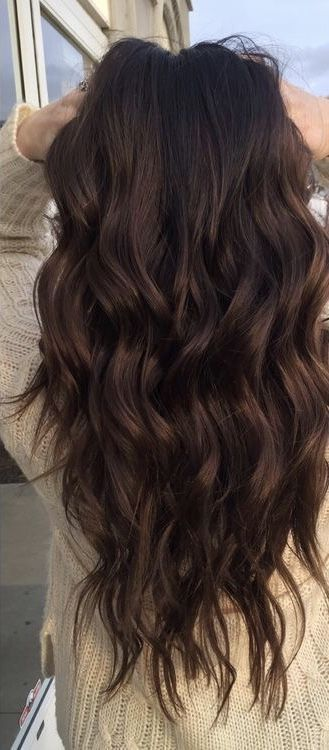 DARK BROWN  LEVEL 3 HAIR EXAMPLE NOT DONE BY ME