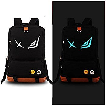 a7b995f865 Amazon.com  Anime Luminous Backpack Daypack Shoulder School Bag Laptop Bag   Computers   Accessories