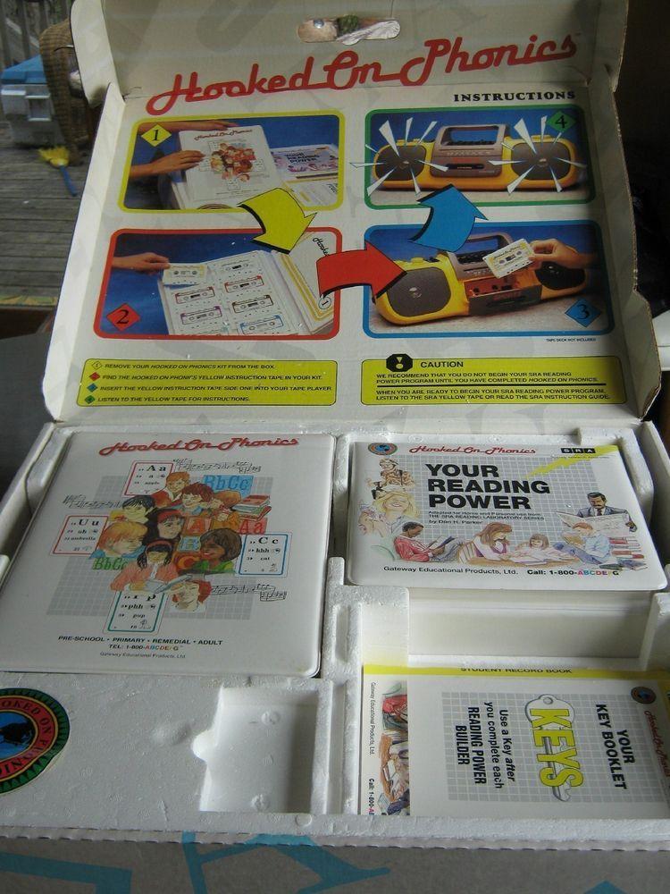 Hooked On Phonics Sra Reading Power Program Cassettes Set Gateway