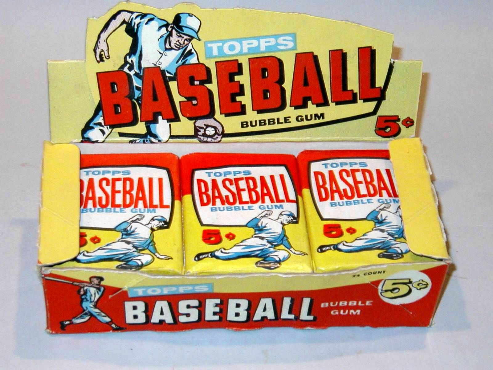 Old1960s Baseball Card Packs Google Search Vintage Toys Too
