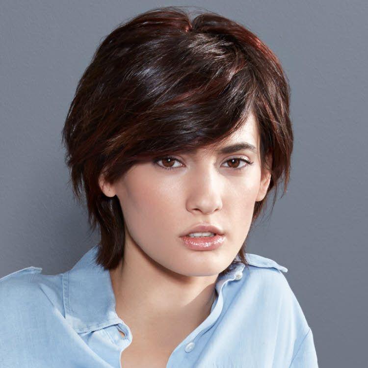Coupe et coiffure cheveux courts interm de automne hiver 2017 2018 coiffure pinterest - Coupe carree courte femme ...
