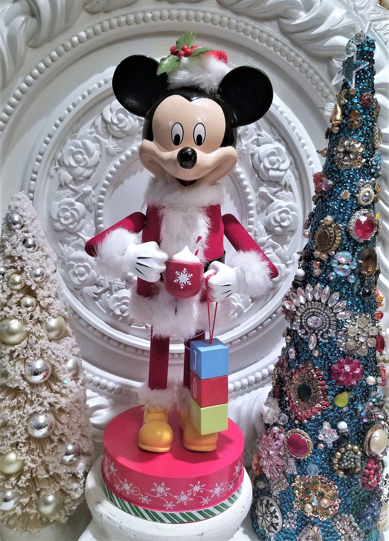 Disney Mickey Mouse Nutcracker Christmas Wooden Tags 14 Etsy Nutcracker Christmas Disney Christmas Stockings Disney Christmas Ornaments