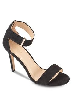 a9b7ba9d4ffd Basic Heel Sandals from ZALORA in black 1