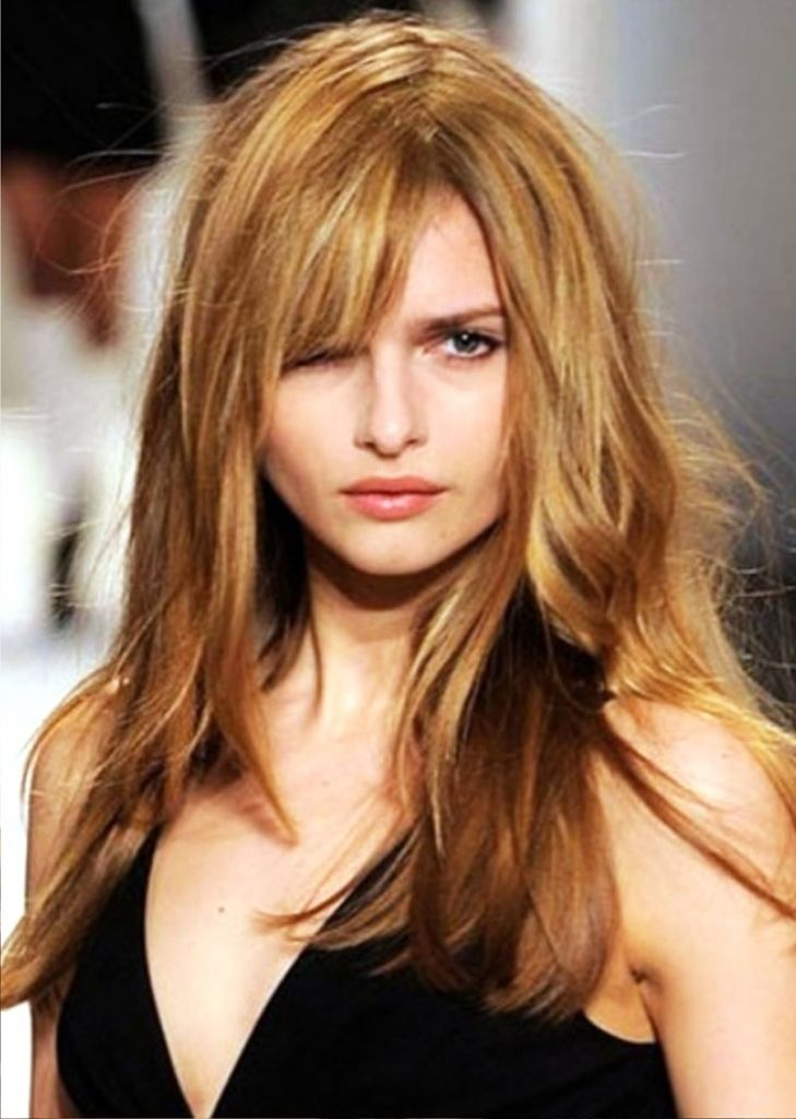 lange abgehackt haarschnitt   frisuren, frisur langes