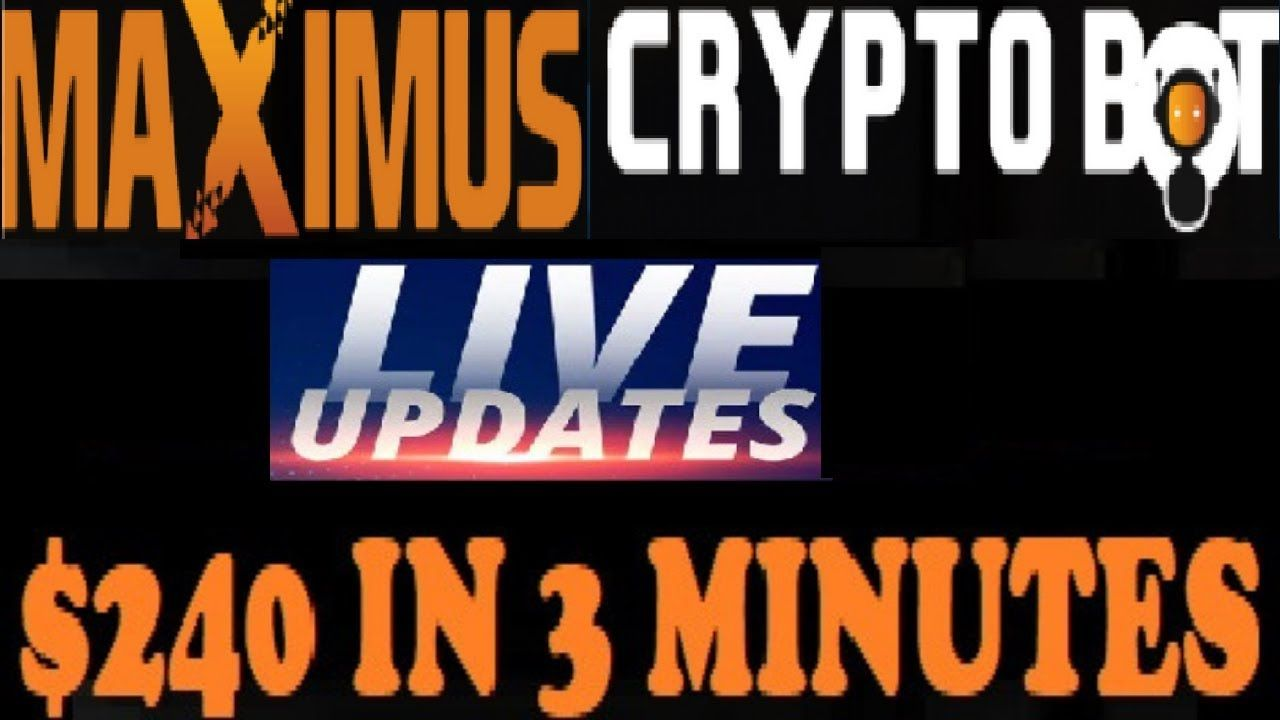 Maximus Crypto Bot Accurate Signal! 240 Earning In 3