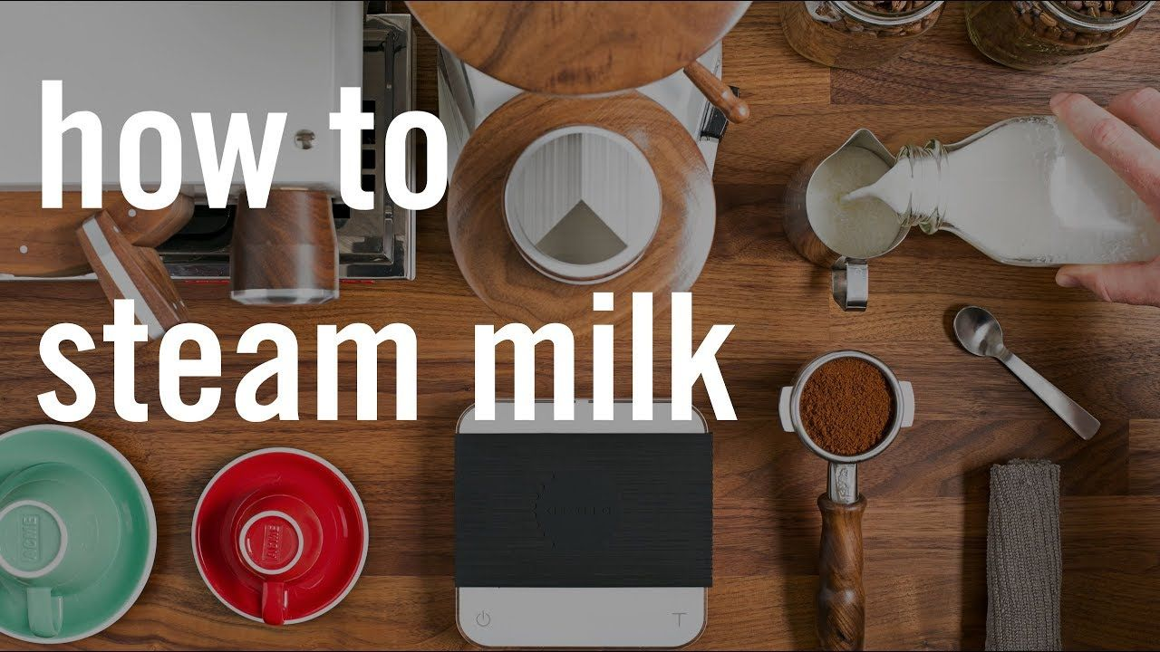 How to Steam Milk for Espresso YouTube How to steam