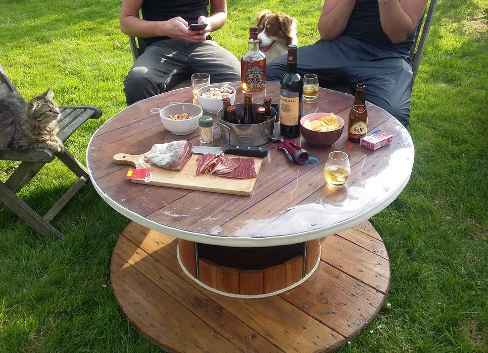 Touret en table basse, apéro estival ! | Art-K\'D-zYn | Outdoor decor ...