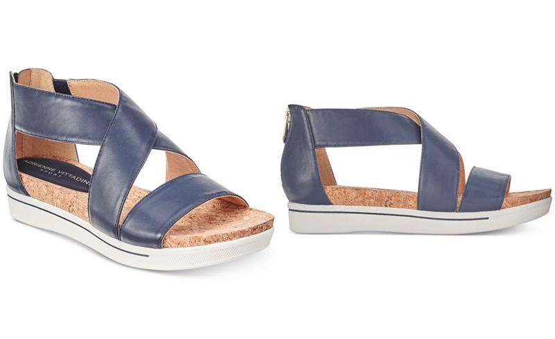 5116e142d2a6 Adrienne Vittadini Claud Sport Flatform Sandals - Sandals - Shoes - Macy s