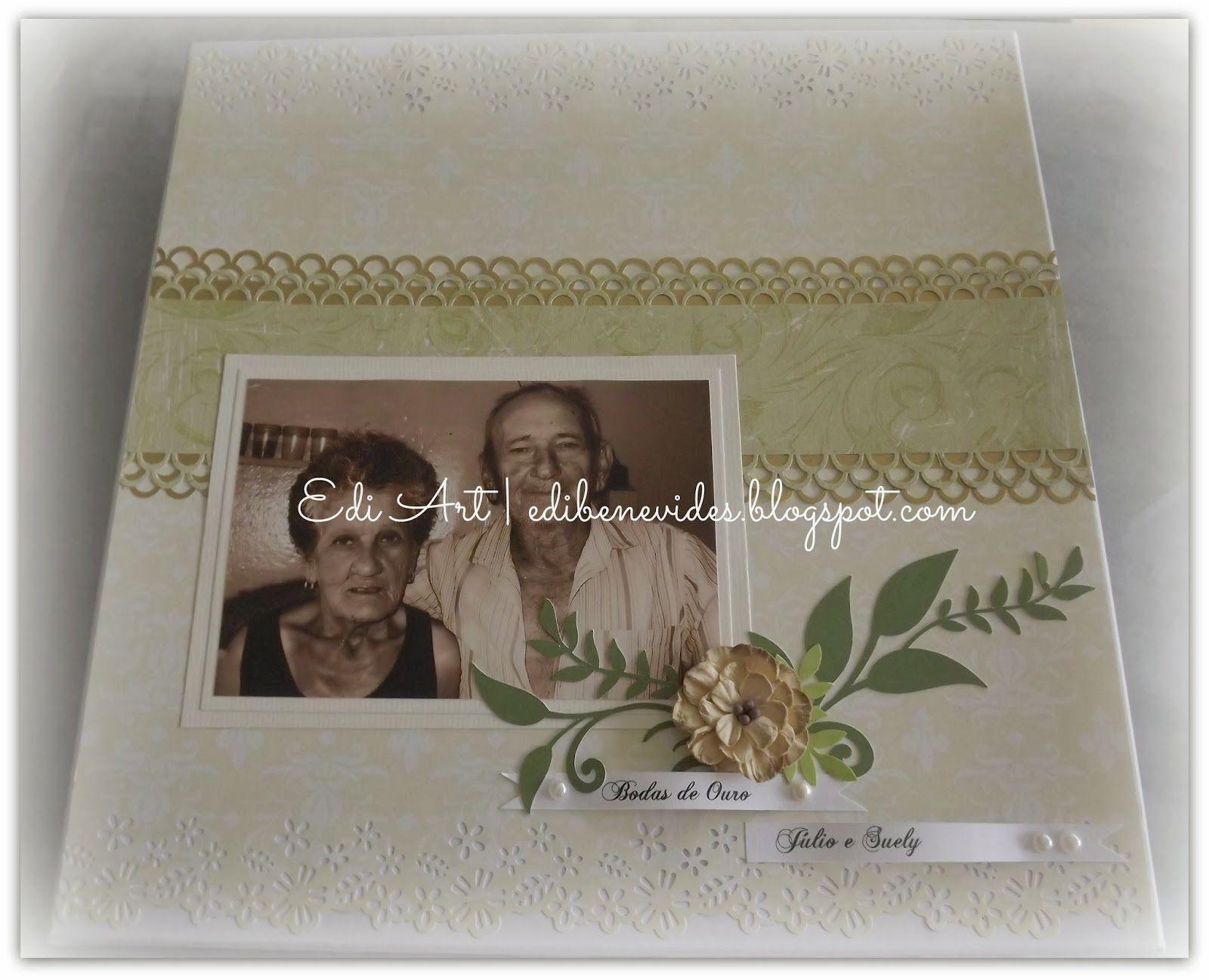 Edi Art: Livro de assinaturas Bodas de Ouro