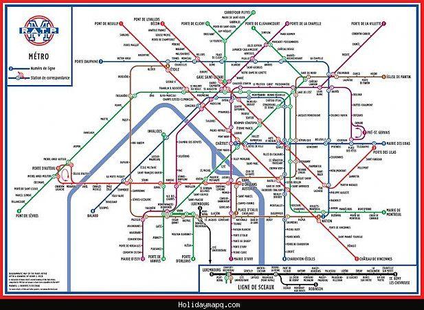 awesome paris subway map