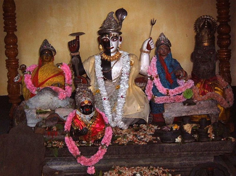 Before the Great Schism that divided Shaivism and Vaishnavism, they were two devotional cultuses of the SAME RELIGION,