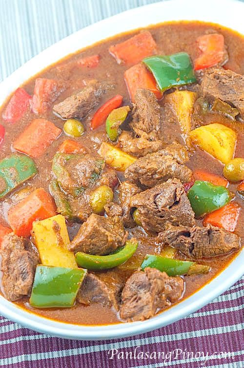 Beef kaldereta recipe filipino fiestas and dishes cuisine forumfinder Images