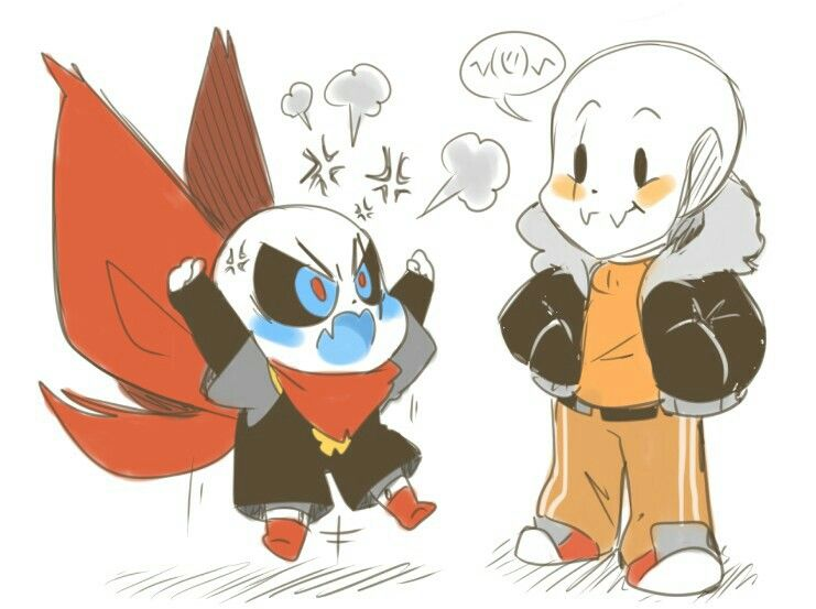 Swap fell sans and papyrus | test | Undertale cute