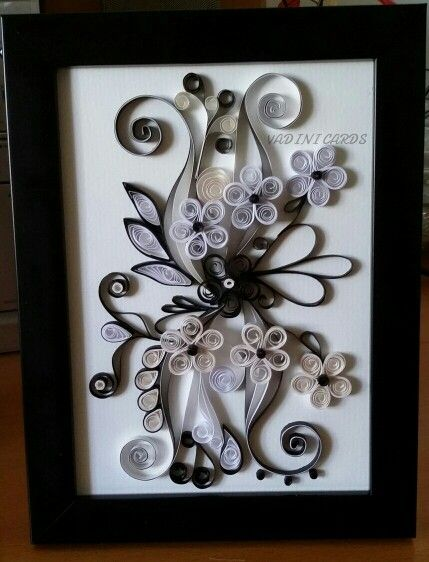 For more of our quilling creations go on www.facebook.com/VadiniCards