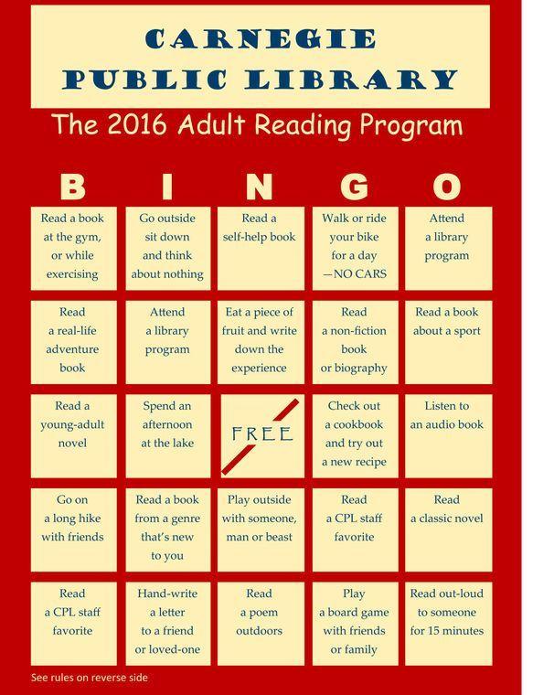 Public library adult program