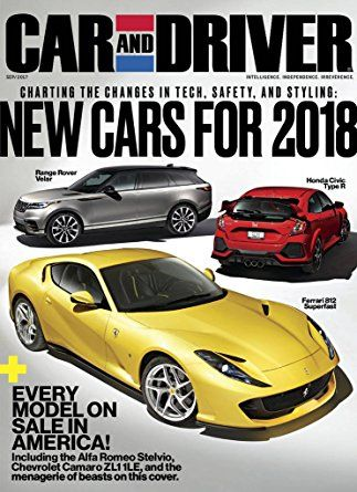 Car And Driver >> Car And Driver Magazines Pinterest