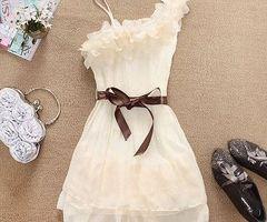 pretty white dress :)