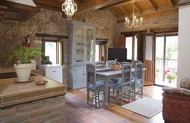 Casa rural decoraci n r stica con poco presupuesto fotos - Decoracion de casas rusticas ...