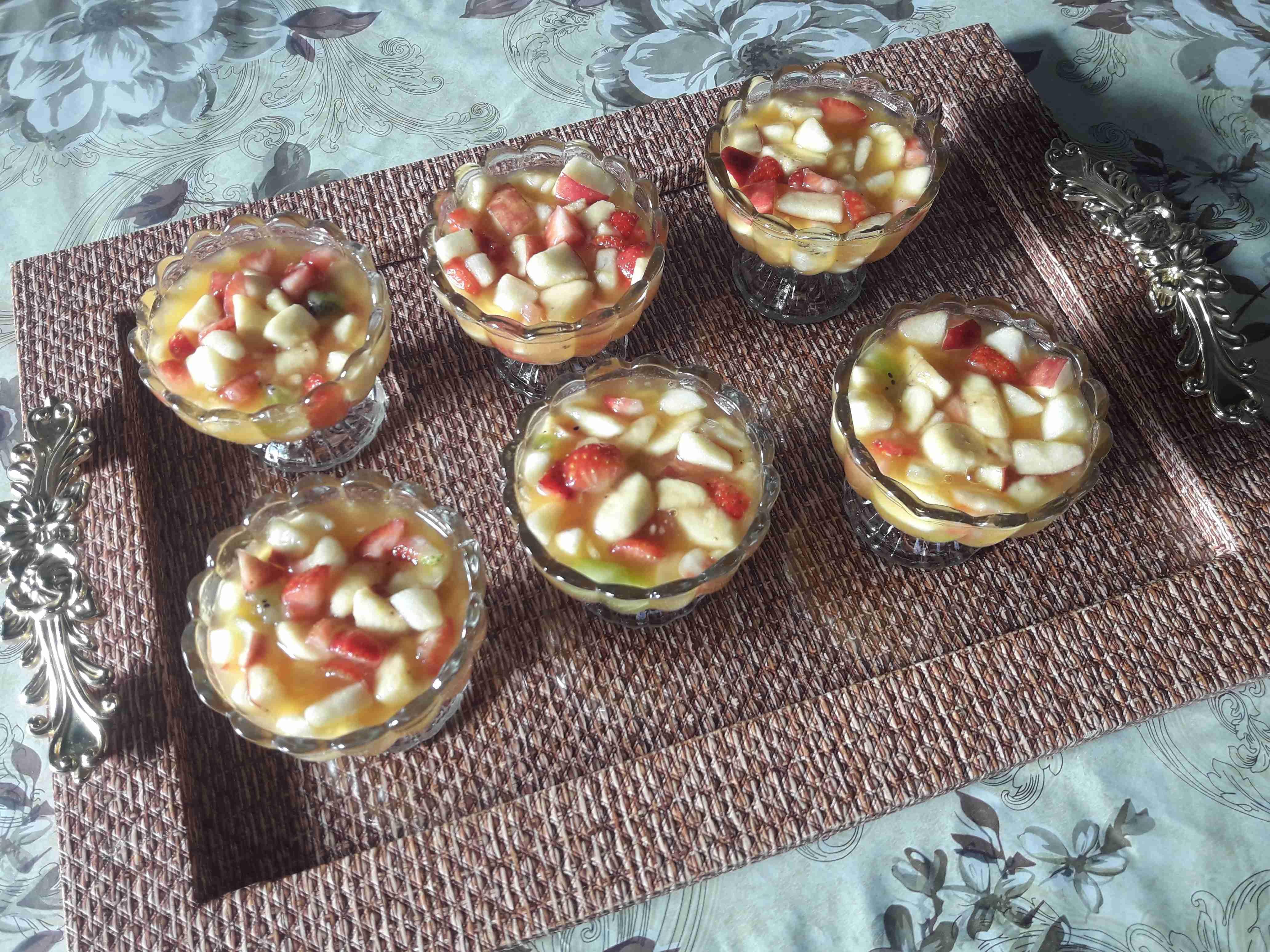 سلطه فواكه سهله وبسيطه بس رووووعه زاكي Recipe Food Mini Cheesecake Cheesecake