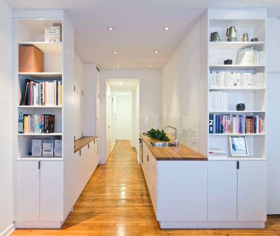 Kleine Wohnung Einrichten: Intelligente Wände