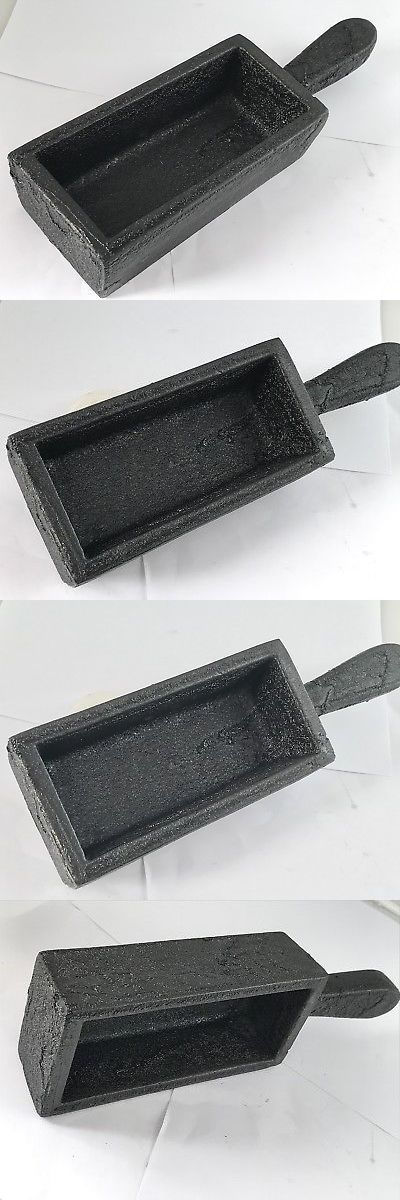 Jewelry Molds 67711: Ingot Mold With Handle 200 Oz Cast Iron