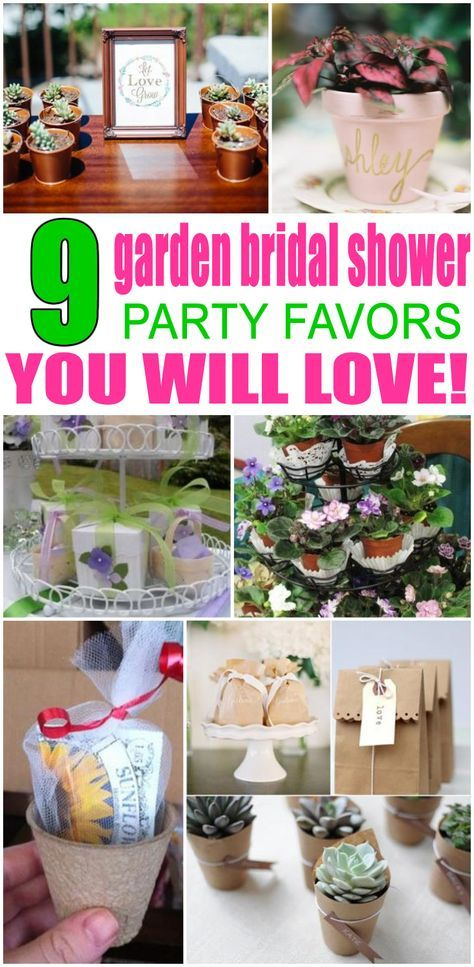 Trendy baby shower gifts for guests party favors plants Ideas