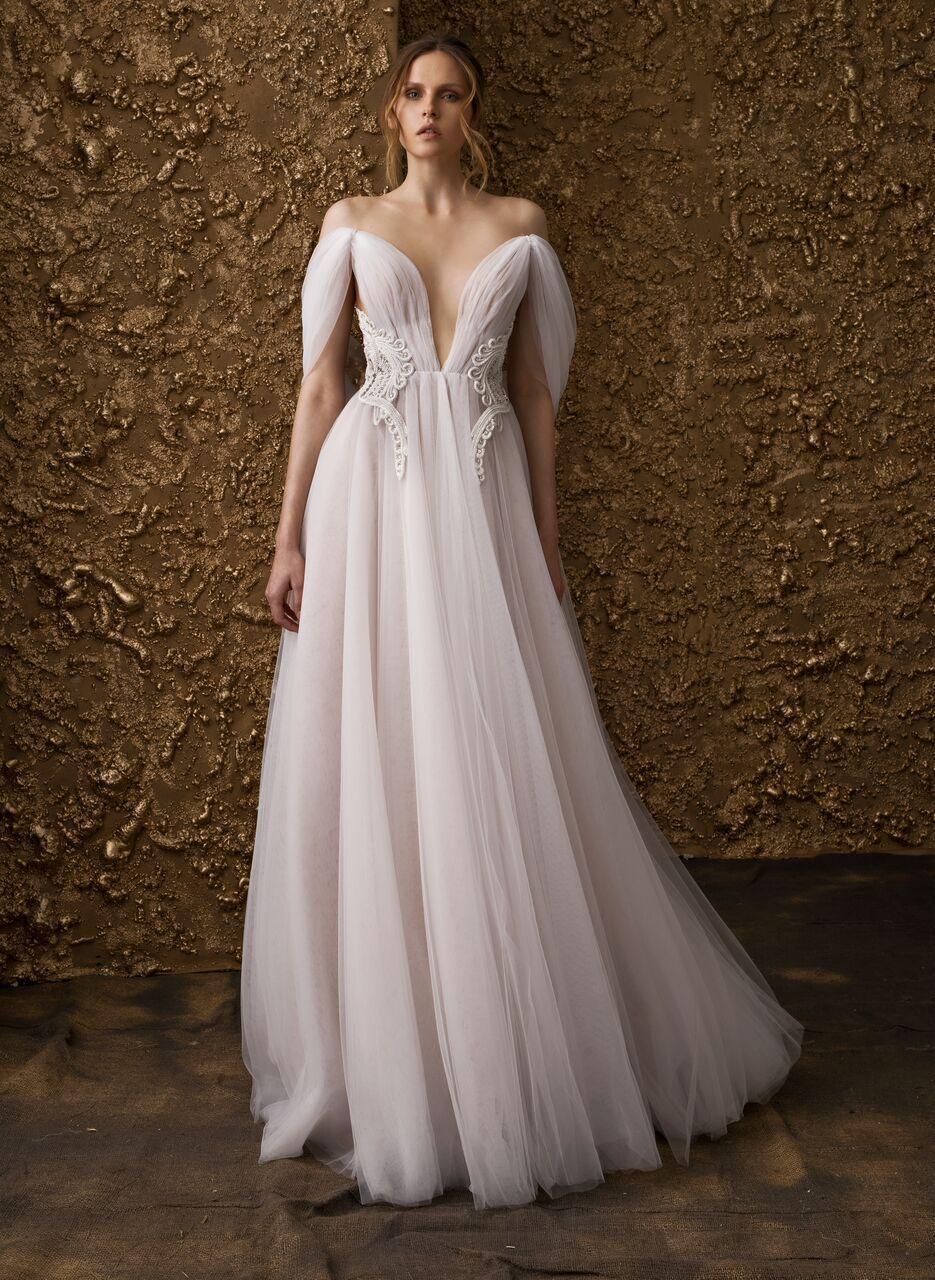 Nurit hen wedding dress collection ugolden touchu hens