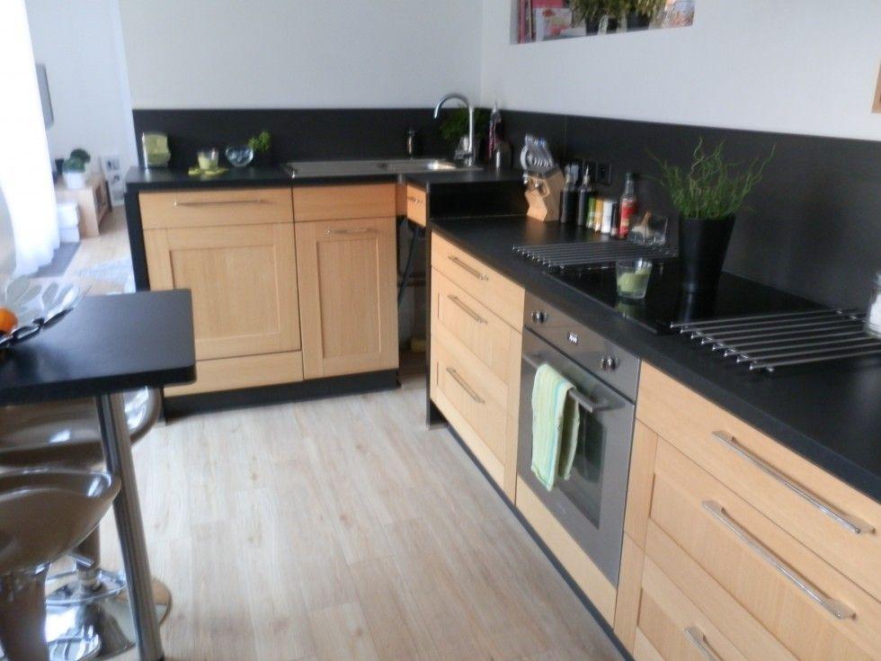 Cuisine cuisine pinterest relooking cuisine cuisine bois et amenagement cuisine - Cuisine meuble bois ...
