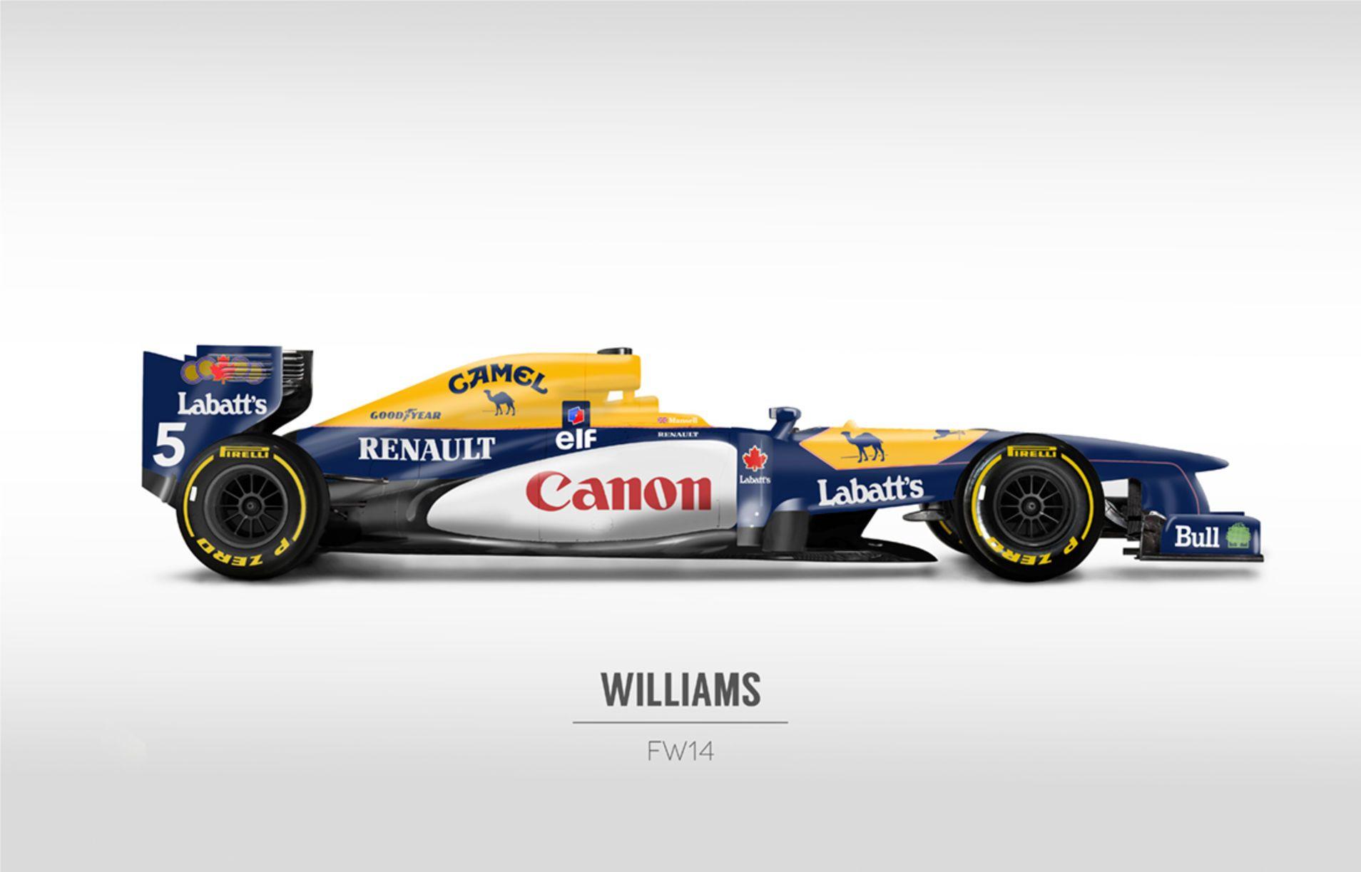 Classic Formula 1 Liveries On Modern F1 Cars Are Plain Awesome Formula 1 Racing Formula 1 Car