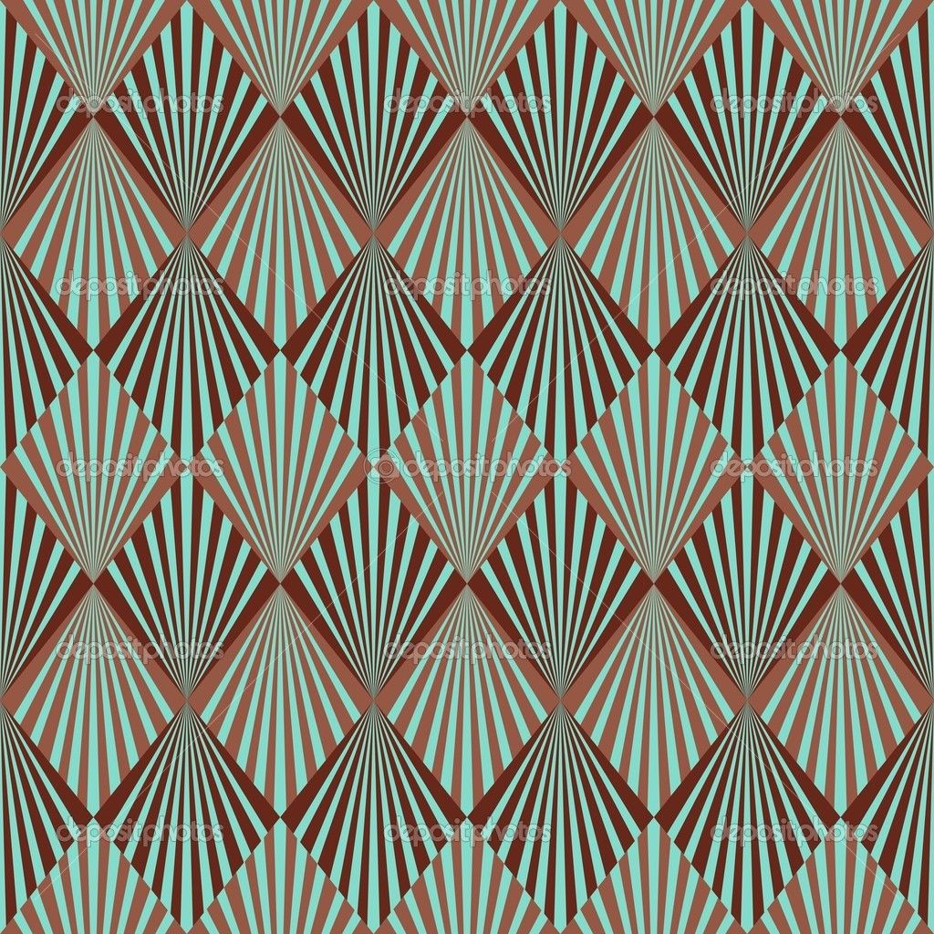 deco art and pattern - photo #10