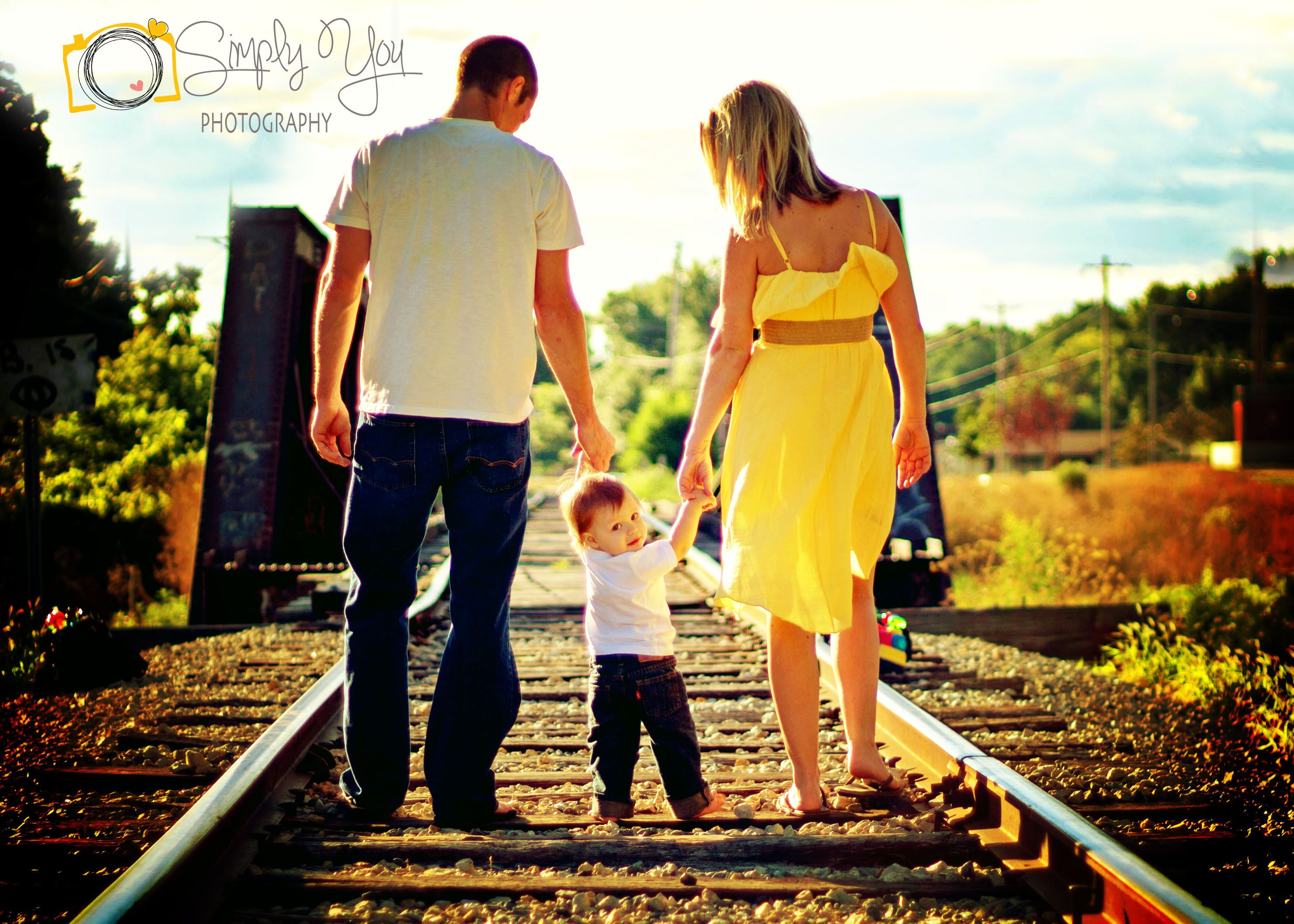 Family Train Track Picture  #SimplyYouPhotography https://www.facebook.com/SimplyYouPhotography1