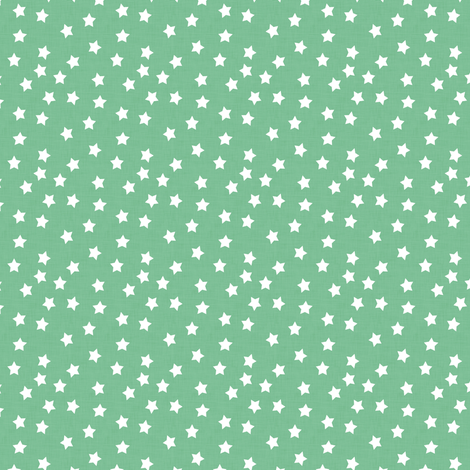 Star Ditsy Dot Peppermint, Smaller fabric by thistleandfox on Spoonflower - custom fabric
