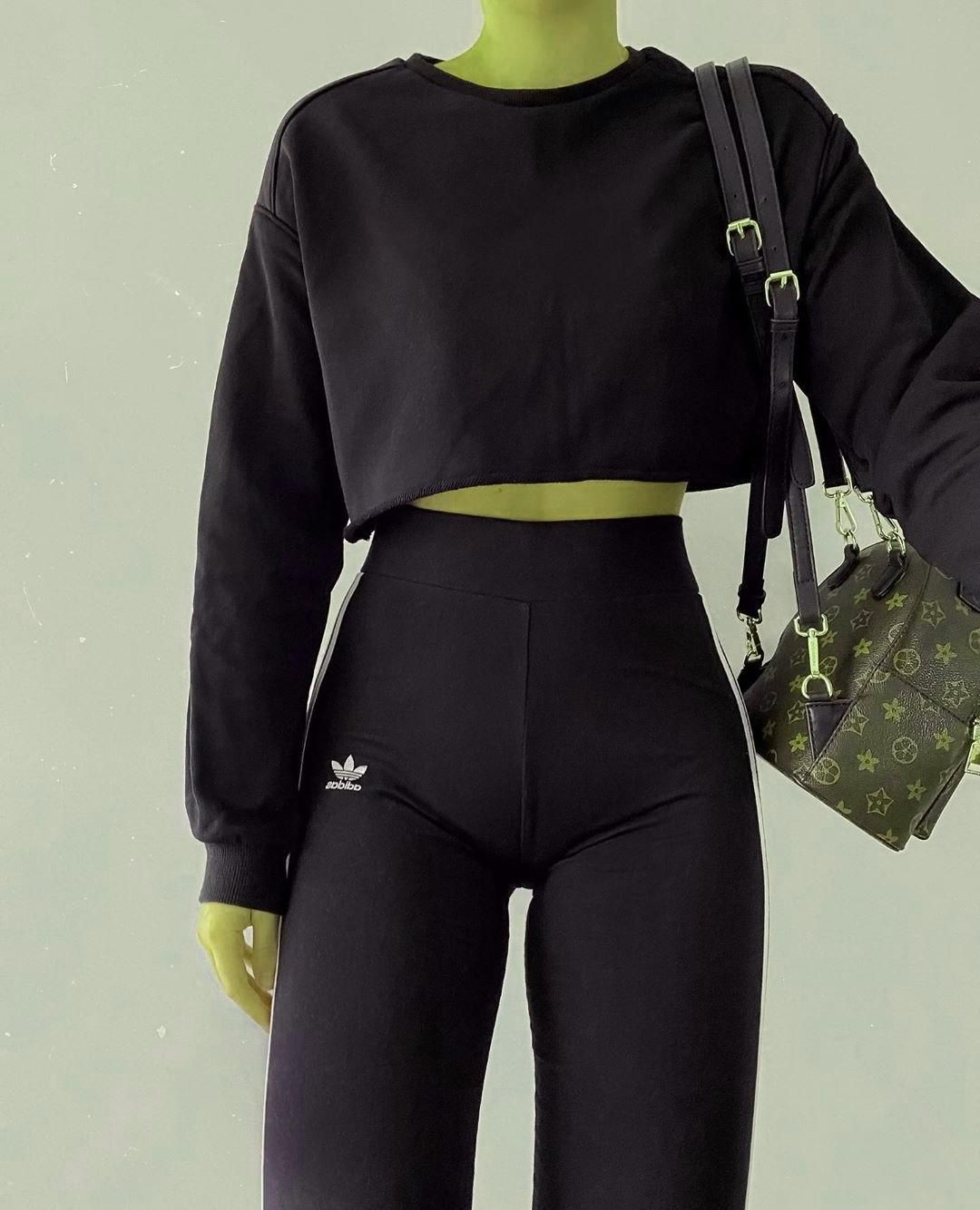 Slimming Fashion Tips black. #polishgirl #picoftheday #photooftheday #outfit #outfitoftheday #stylepost #streetwear #ootd #streetstyle #adidas #sporty.Slimming Fashion Tips  black. #polishgirl #picoftheday #photooftheday #outfit #outfitoftheday