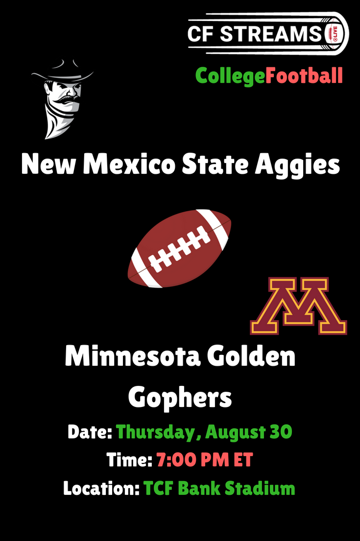 New Mexico State Aggies vs Minnesota Golden Gophers