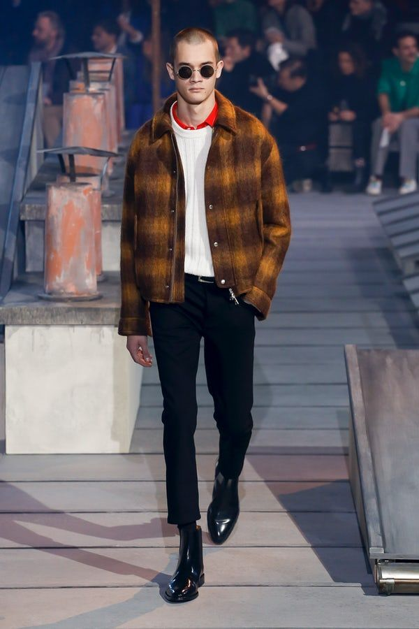 Ami   Menswear  Autumn 2018   Look 26 is part of Mens winter fashion - BoFW
