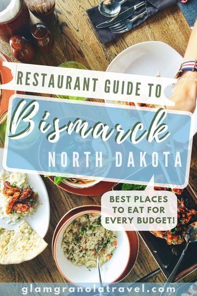 There are an exciting number of awesome restaurants in Bismarck, North Dakota! From burgers to Pad Thai, pizza to vegan, there should be a little something for everyone. Trust a local (I've lived in the area on and off for over 3 years)! Check out these delish restaurants on your next stop in Bismarck, North Dakota! #NorthDakota #foodguide #restaurantguide #foodietravel #foodtravel