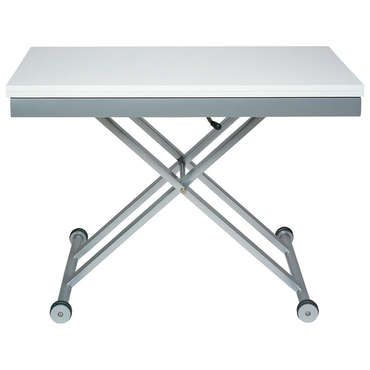 table rectangulaire avec allonge 110 cm