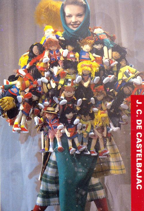 """Jean-Charles de Castelbajac Fall/Winter 1993 """