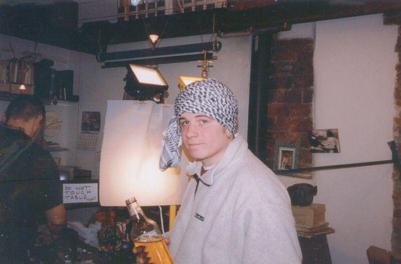 Vinnie Paz - born Vincenzo Luvineri - in his early adult years. The Italian-American artist is one-quarter of 'Jedi Mind Tricks' and a member of the rap supergroup 'Army Of The Pharoahs'.