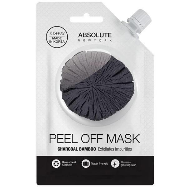 #charcoal Bamboo Peel Off Mask (clarifying) - Exfoliates impurities. #HomemadeFaceMask