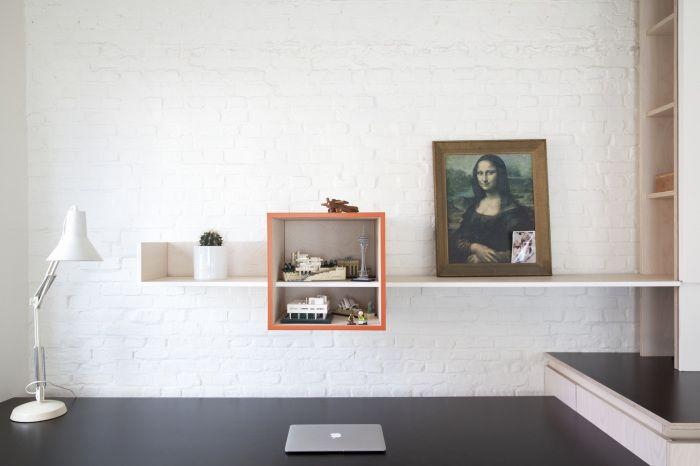Werkplek Keuken Inrichten : Perfecte combinatie van woonkamer werkplek en keuken interieur