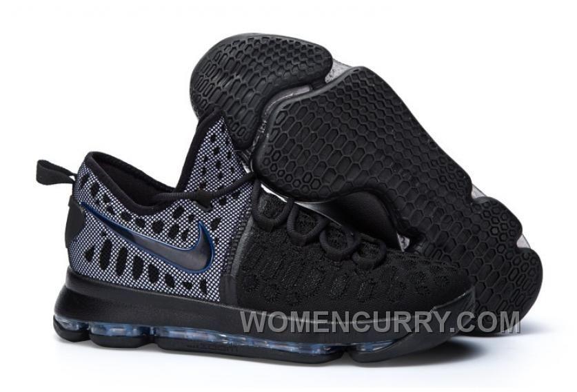 Nike KD 9 Black Grey 2016 For Sale