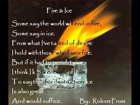 °Fire&Ice by Robert Frost
